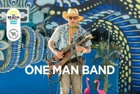 One-man band Mike - Multi-Instrumentalist Russian Federation