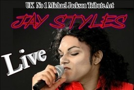 Jay Styles Michael Jackson  - Michael Jackson Tribute Act Chatteris, East of England