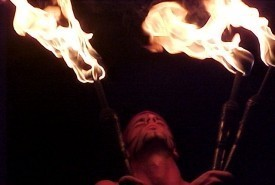 Bash & the Fire Dancers of Creative Flame - Fire Performer Wilmington, North Carolina