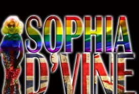 Miss Sophia D'Vine - Drag Queen Act Liverpool, North of England