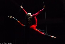 Elizabeth Marsh - Aerialist / Acrobat Chicago, Illinois