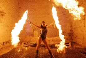 Katia M Fire Dancer - Fire Performer