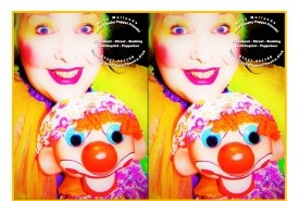 Miss Merlynda & Her Cheeky Puppet Friends! - Walkabout Ventriloquist + Street Ventriloquist + Street Marionette Puppeteer - For Public Events - PLUS! - Miss Merlynda's Learn Ventriloquism + Make Puppets Workshops! - For Children's Parties - Ventriloquist Southampton, South East