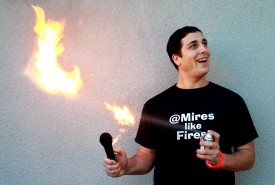 Dan Mires like Fires - Adult Stand Up Comedian San Francisco, California