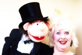 Merlynda Marlene - Cabaret Comedy Ventriloquist - and - Miss Merlynda & Her Cheeky Puppet Friends! Ventriloquist & Puppeteer For Children's Events - Comedy Cabaret Magician Bideford, South West