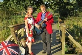 Chris and Karen Rewind, Specialty act, A trip down memory Lane  - Duo Chilliwack, British Columbia
