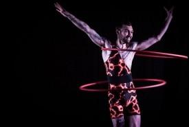 Volcanic Ash  - Hula Hoop Performer Scotland