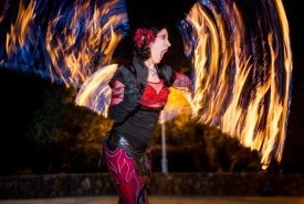 Sacred Fire Dance - Fire Performer Sacramento, California