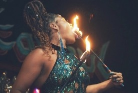 Blue Flame Fire & Flow Artist - Fire Performer Memphis, Tennessee