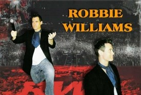 Paul 'Robbie' Warren. - Robbie Williams Tribute Act