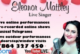 Eleanor Mattley - Singing Telegram Leicester, East Midlands