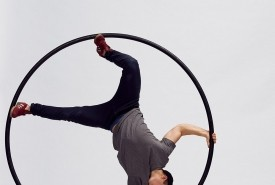 Peter William Shirley - Cyr Wheel Act