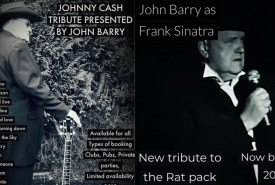 John Barry - Frank Sinatra Tribute - Johnny Cash Tribute Act