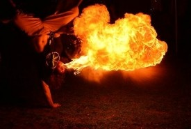 Jeremiah Jacobs - Fire Performer Grand Rapids, Michigan