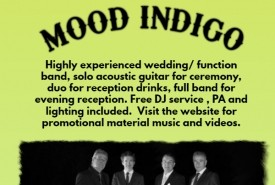 Mood Indigo - Function / Party Band