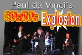 The Paul da Vinci Explosion 60's/70's - Tribute Act Group Somerset, South West