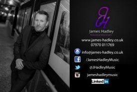 James Hadley - Male Singer Cannock, Midlands