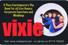 Vixie - Cover Band Lancashire, North West England