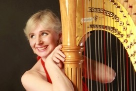 Magdalena Reising -  singer/harpist - solo or with jazz or classical ensembles - Harpist