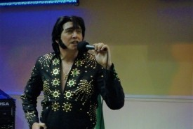 James Burrell as Elvis Presley - Wedding Singer Exeter, South West