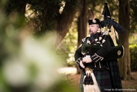 Andrew Brian Highland Bagpiper - Bagpiper Warrington, North West England
