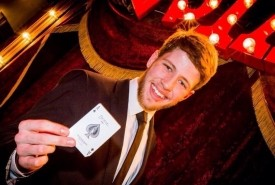 Nathan Newcastle - Close-up Magician North West, North of England