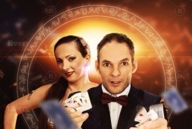 Jonhson and Nicole Comedy magician Mentalist - Comedy Cabaret Magician Windermere, North West England