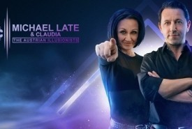 Michael Late & Claudia - The Austrian Illusionists - Stage Illusionist Austria