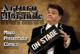 Arturo el Grande - Comedy Cabaret Magician Madrid, Spain