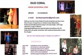 DUO CORAL - Duo Spain, Spain