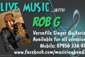 Rob G - Cover Band Ashford, East of England