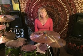 Kate May - The Mint Blonde - Drummer Greater Manchester, North of England
