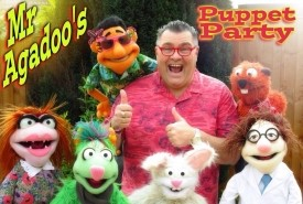 Mr Agadoos Puppet Party - Puppeteer