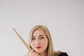 Anna Tovarnytska - Drummer