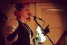Melissa Gill as seen on The Voice UK - Acoustic Guitarist / Vocalist
