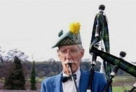 Prof Alan Harrison (ne Kirk) - Bagpiper Oxford, West Midlands