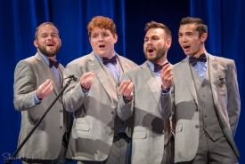The Newfangled Four  - A Cappella Group Los Angeles, California