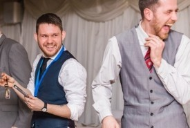 "Greg ""The Glorified Con-Man""  Holroyd - Wedding Magician Sheffield, North of England"