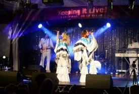 Kiss the Teacher ABBA tribute band - Tribute Act Group Ipswich, East of England