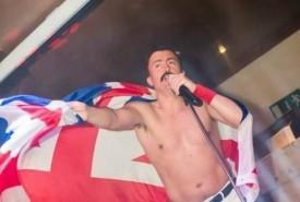 Ian Adams as Freddie Mercury - Freddie Mercury Tribute Act Chorley, North West England
