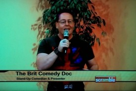 Daniel Nightingale (AKA Brit Comedy Doc) - Clean Stand Up Comedian Phoenix, Arizona