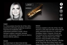 Sammy J sax - Saxophonist Liverpool, North West England