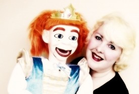 Miss Merlynda & Her Cheeky Puppet Friends!  Ventriloquist-Puppeteer For Children - Marionette Puppet Shows - Walkabout Ventriloquist and Puppeteer!  - Puppeteer Bideford, South West