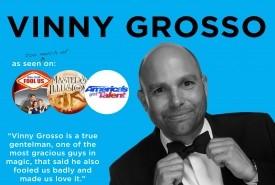 Vinny Grosso - Comedy Cabaret Magician Las Vegas, Nevada