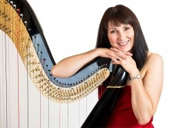 Oona Linnett - Harpist Chester, North of England