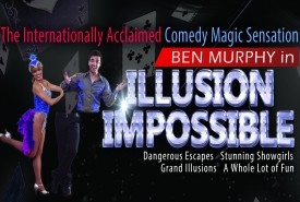 Ben Murphy - The #1 Internationally acclaimed comedy, magic, illusions and escapes - Stage Illusionist