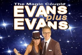 EVANS plus EVANS - The Magic Couple - Comedy Cabaret Magician Uxbridge, London