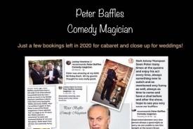 Peter Baffles - Comedy Cabaret Magician Paignton, South West
