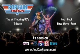 Pop Gun Rerun - A Tribute to the 80's - 80s Tribute Band Newport Beach, California