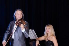 Sergei & Olga (Duo) violin & piano - Violinist Canada, Quebec